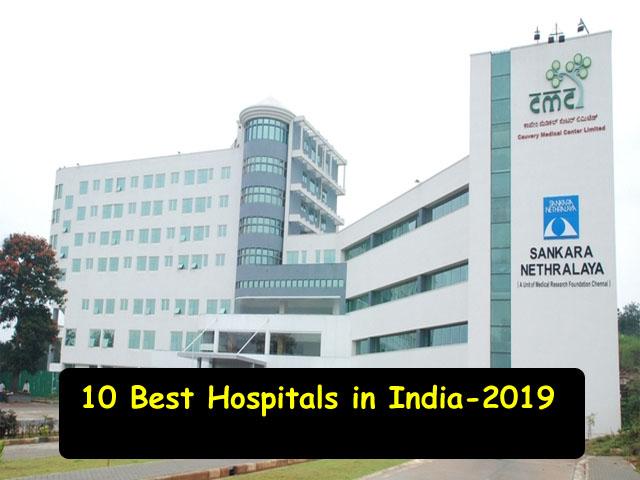 Best Hospitals in India 2019